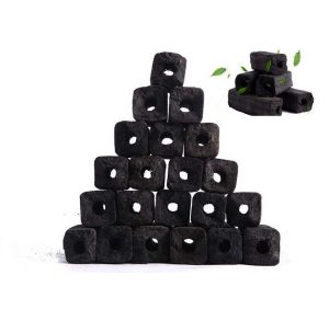 SAWDUST BRIQUETTE CHARCOAL (SQUARE SHAPE)